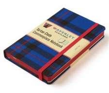 Waverley Scotland Large Tartan Cloth Commonplace Notebook - Elliot Tartan
