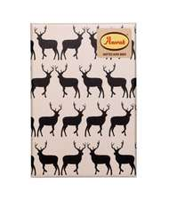 Anorak Kissing Stags Notecard Set:  Focus. Slow Down. de-Stress.