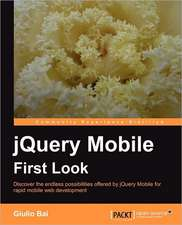 Jquery Mobile First Look