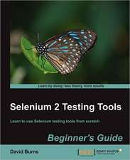 Selenium 2 Testing Tools