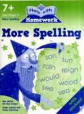 More Spelling 7+