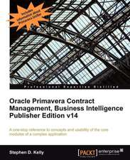 Oracle Primavera Contract Management Bi Version 14