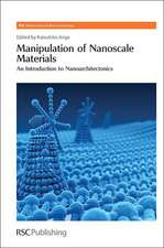 Manipulation of Nanoscale Materials:  An Introduction to Nanoarchitectonics