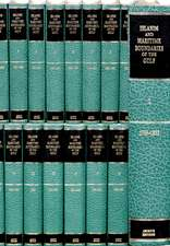 Islands and Maritime Boundaries of the Gulf 1798–1960 20 Volume Hardback Set Including Boxed Maps