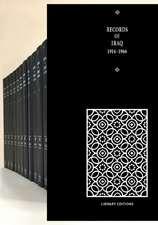 Records of Iraq 1914–1966 15 Volume Hardback Set