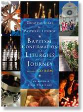 Creative Ideas for Pastoral Liturgy: Baptism, Confirmation and Liturgies for the Journey [With CDROM]