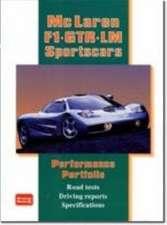 McLaren F1 GTR LM Sportscars Performance Portfolio:  Gold Portfolio 1996-2002