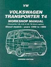 VW Transporter T4 Mnl - Diesel:  Petrol Models - Years 1996 on