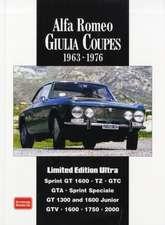 Alfa Romeo Giulia Coupes:  Limited Edition Ultra, 1963-1976
