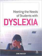 Meeting the Needs of Student with Dyslexia