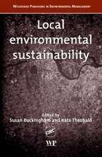 Local Environmental Sustainability
