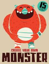 Create Your Own Monster:  15 Unique 3D Pop-Out Monsters [With 15 Pop-Out Monsters]