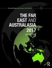 The Far East and Australasia 2017