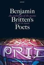 Benjamin Britten's Poets