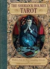 SHERLOCK HOLMES TAROT BOOK & CARDS