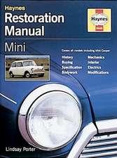 Haynes Restoration Manual Mini