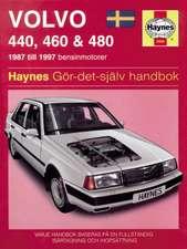 Volvo 440, 460 and 480 (1987 - 1997) Haynes Repair Manual (svenske utgava)