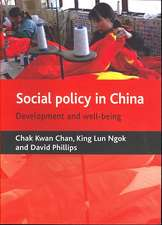 Social policy in China: Development and well-being