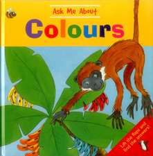 Ask Me about Colours:  Lift the Flaps and Find the Answers!