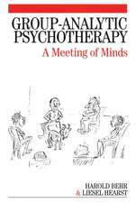 Group–Analytic Psychotherapy: A Meeting of Minds