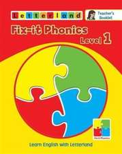 Fix-it Phonics: Learn English with Letterland