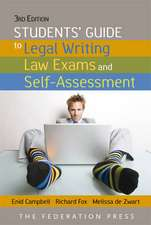 Students' Guide to Legal Writing and Law Exams
