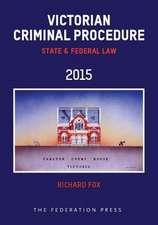 Victorian Criminal Procedure