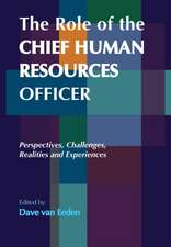 The Role of the Chief Human Resources Officer