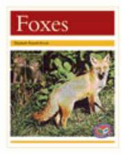 Foxes PM Non Fiction Animal Facts Level 22 Nocturnal Animals Gold