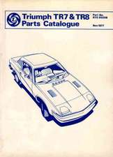 Triumph Tr7/8 Parts Catalog:  Thinkers of Our Time
