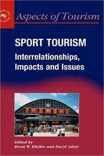 Sport Tourism Interrelationships Impacts:  Demand & Impacts