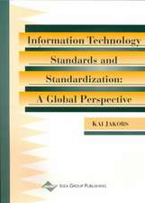 Information Technology Standards & Standardization