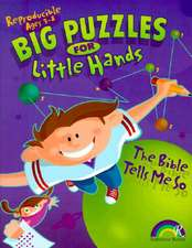 Big Puzzles for Little Hands:  The Bible Tells Me So