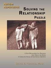 Autism / Aspergers:  Solving the Relationship Puzzle
