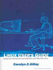 Linux User's Guide:  Using the Command Line & Gnome with Red Hat Linux