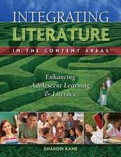 Kane, S: INTEGRATING LITERACY IN THE CO