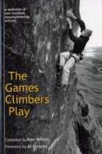 The Games Climbers Play