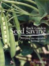 Back Garden Seed Saving