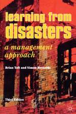 Learning from Disasters