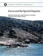 Kavos and the Speical Deposits:  The Sanctuary on Keros and the Origins of Aegean Ritual