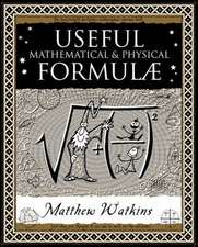 Useful Math & Physical Formulae
