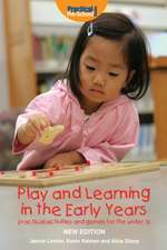 Play and Learning in the Early Years