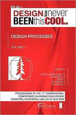 Proceedings of Iced'09, Volume 1, Design Processes:  Journey to the Voids
