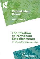 The Taxation of Permanent Establishments:  An International Perspective