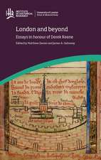 London and Beyond:  Essays in Honour of Derek Keene