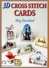 Evershed, M: 3D Cross Stitch Cards