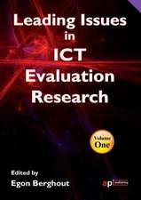 Leading Issues in ICT Evaluation Research for Researchers, Teachers and Students