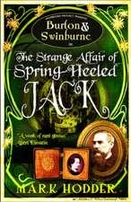 Burton and Swinburne in The Strange Affair of Spring Heeled Jack