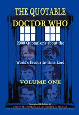 The Quotable Doctor Who