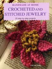 Crocheted and Stitched Jewellery